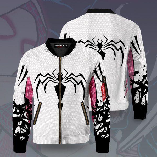 venom gwen bomber jacket 365902 - Anime Jacket
