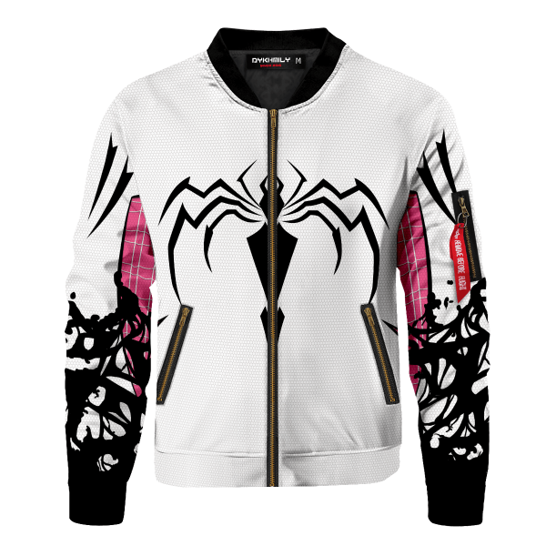 venom gwen bomber jacket 941473 - Anime Jacket