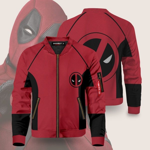 wade wilson bomber jacket 877349 - Anime Jacket