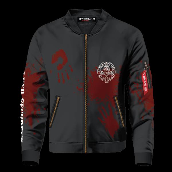 walker security bomber jacket 921816 - Anime Jacket