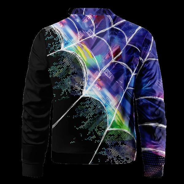 web slinger miles bomber jacket 545397 - Anime Jacket