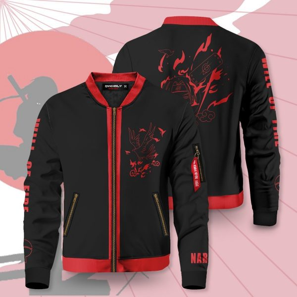 will of fire bomber jacket 318942 - Anime Jacket
