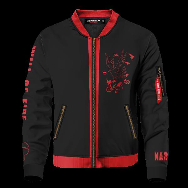 will of fire bomber jacket 697861 - Anime Jacket