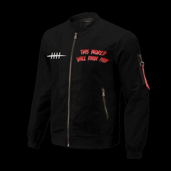 world shall know pain bomber jacket 112476 - Anime Jacket