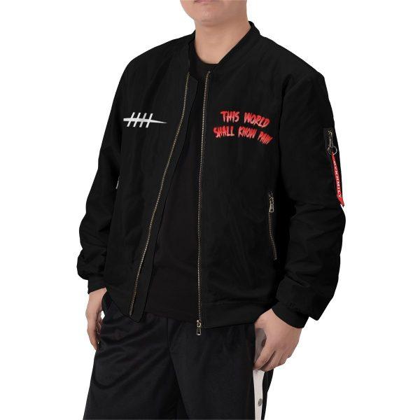 world shall know pain bomber jacket 223799 - Anime Jacket