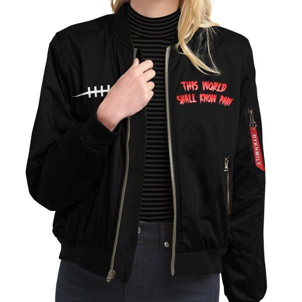 world shall know pain bomber jacket 338605 - Anime Jacket