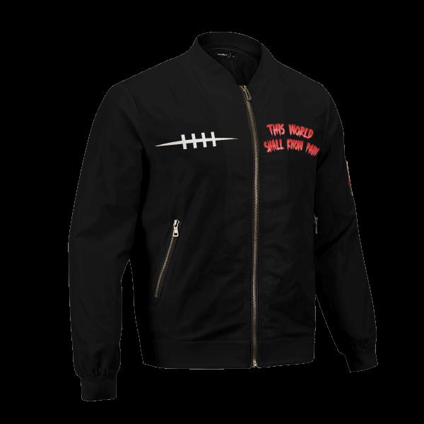 world shall know pain bomber jacket 520625 - Anime Jacket