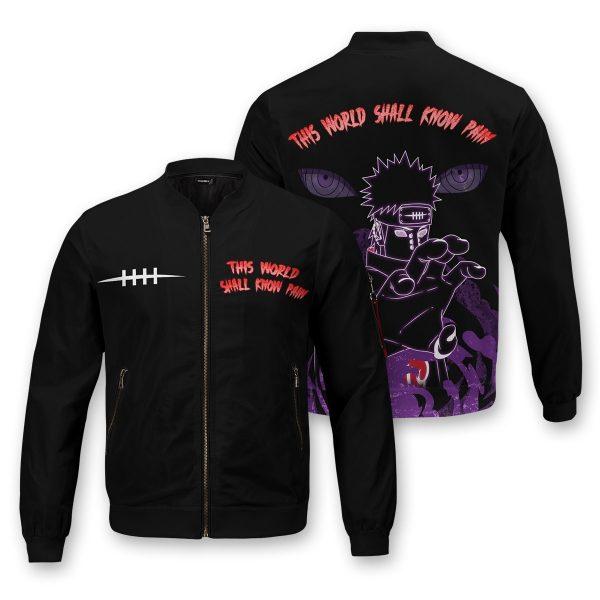 world shall know pain bomber jacket 553876 - Anime Jacket