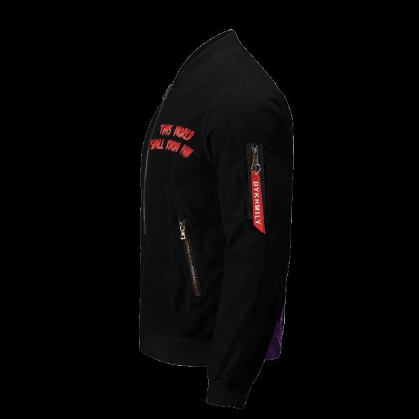 world shall know pain bomber jacket 656797 - Anime Jacket