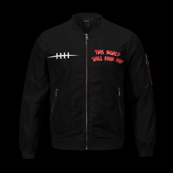 world shall know pain bomber jacket 993017 - Anime Jacket