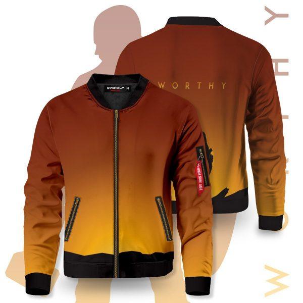 worthy bomber jacket 388688 - Anime Jacket