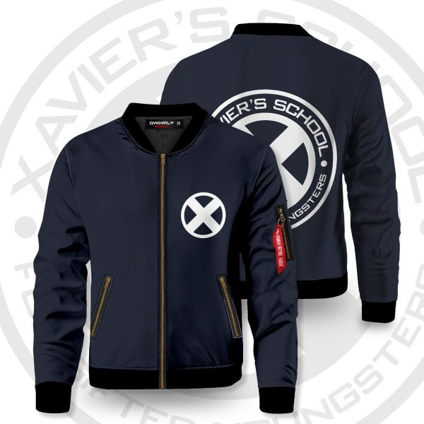 xavier school for gifted youngsters bomber jacket 377768 - Anime Jacket