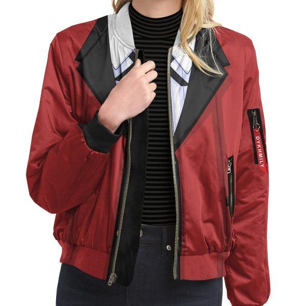 yumeko jabami bomber jacket 279887 - Anime Jacket