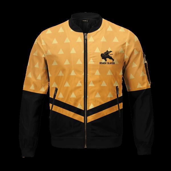 zenitsu god speed bomber jacket 186209 - Anime Jacket