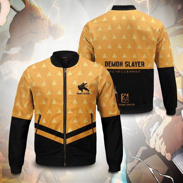 zenitsu god speed bomber jacket 202189 - Anime Jacket