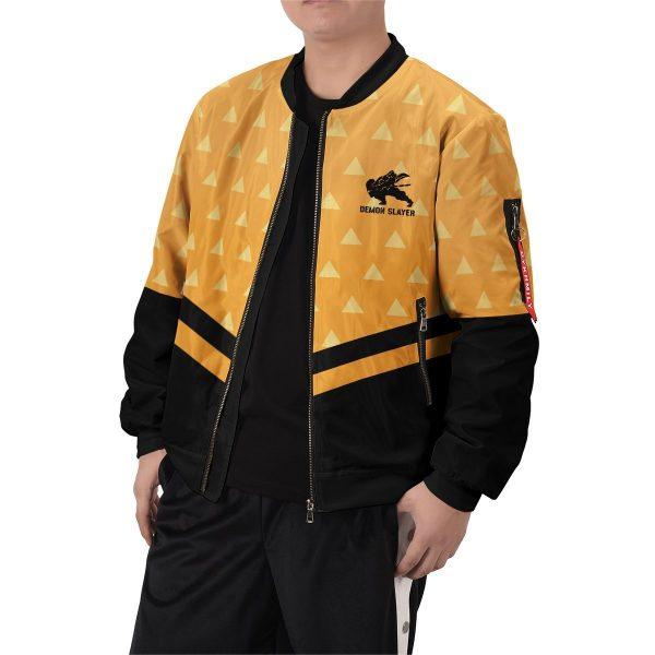 zenitsu god speed bomber jacket 380095 - Anime Jacket