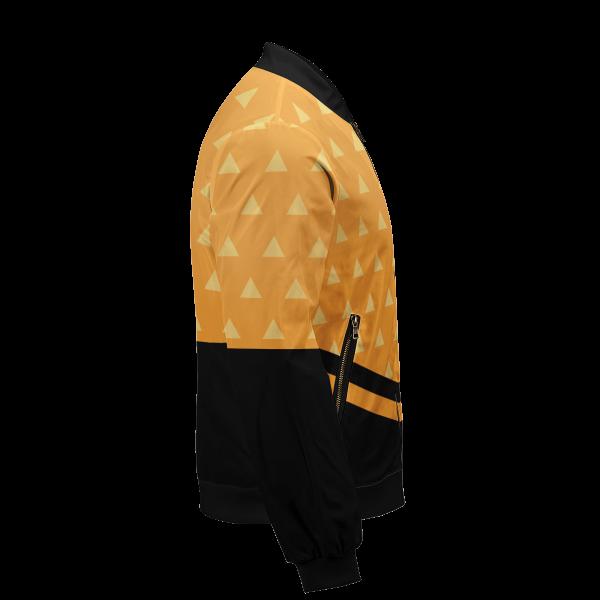 zenitsu god speed bomber jacket 439889 - Anime Jacket