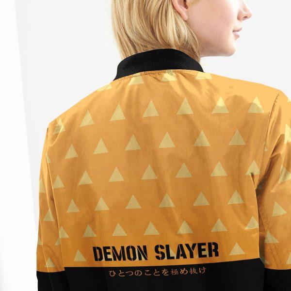 zenitsu god speed bomber jacket 662521 - Anime Jacket