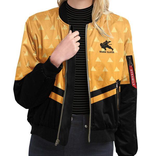 zenitsu god speed bomber jacket 693684 - Anime Jacket