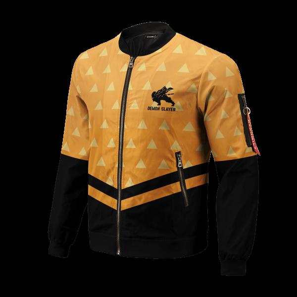 zenitsu god speed bomber jacket 733231 - Anime Jacket