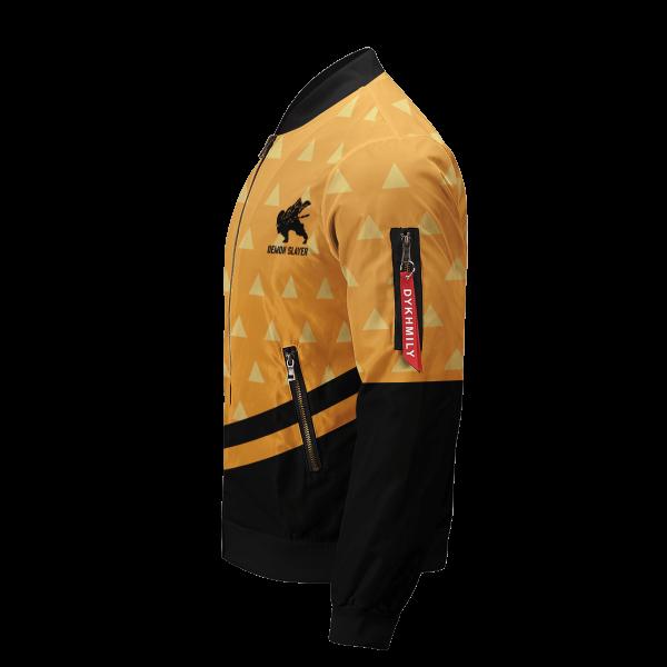 zenitsu god speed bomber jacket 997485 - Anime Jacket