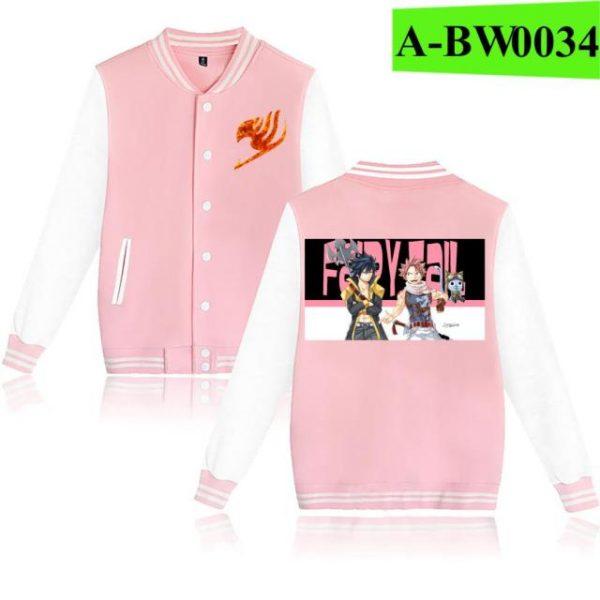 Novelty 3D FAIRY TAIL Fashion men s women s baseball uniform sportswear classic Cool Clothes spring 15.jpg 640x640 15 - Anime Jacket