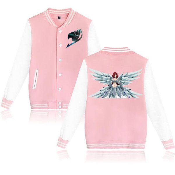 Novelty 3D FAIRY TAIL Fashion men s women s baseball uniform sportswear classic Cool Clothes spring - Anime Jacket