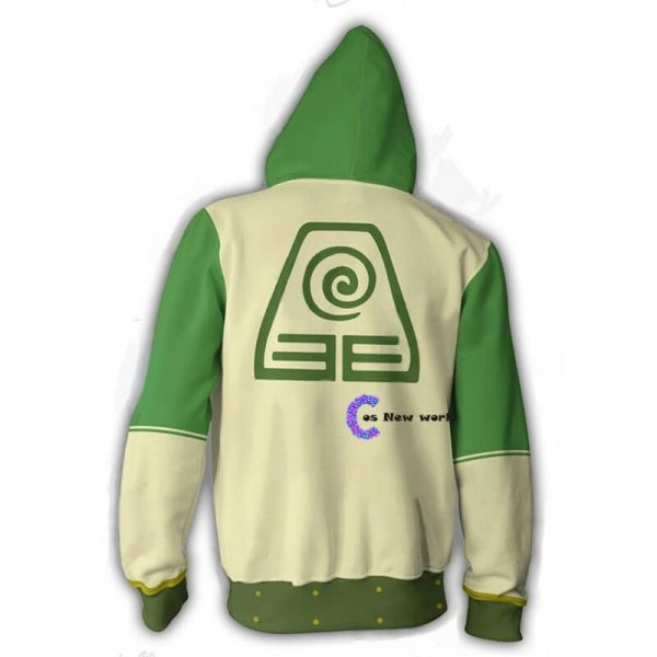 2020 New Avatar The Last Airbender Hoodie Cosplay Costume Man Women Anime Casual Zipper Jackets 5 - Anime Jacket