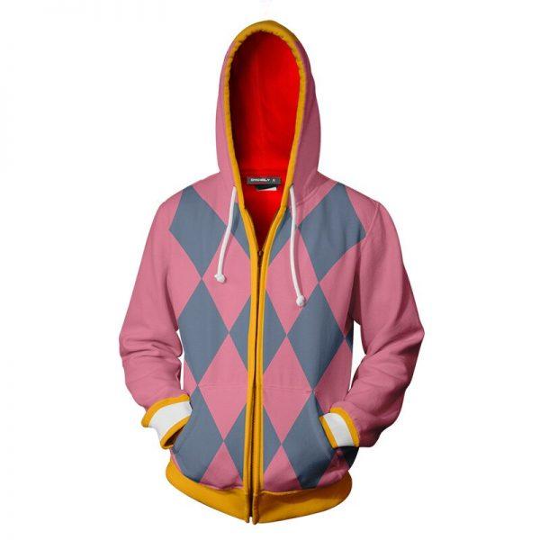 Anime Howls Moving Castle Hoodie Howl Cosplay Costume 3D Printing Casual Zipper Jacket Sweatshirt 1 - Anime Jacket