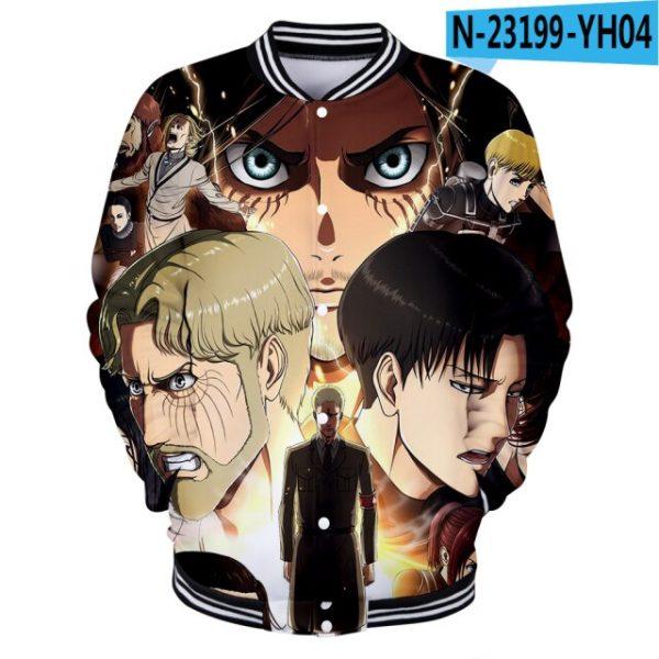 Attack on Titan Clothes 3D Baseball Jackets Women Men Long Sleeve Coat Harajuku Casual Streetwear Unisex 3.jpg 640x640 3 - Anime Jacket
