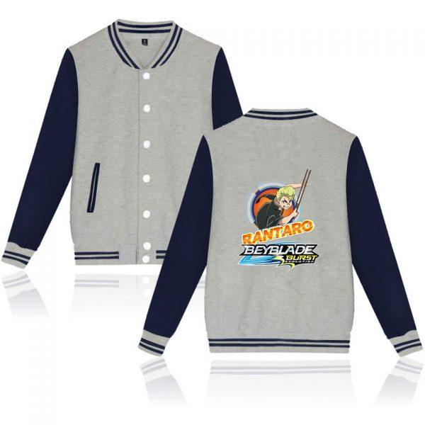 Beyblade Burst Evolution Baseball Unisex Long Sleeve Jacket 2021 Hip Hop Casual Streetwear Harajuku Clothes xxs 1 - Anime Jacket