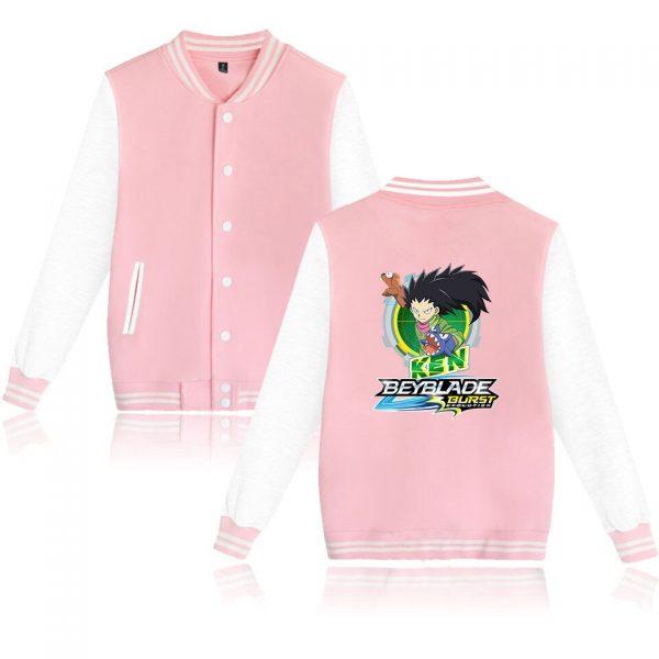 Beyblade Burst Evolution Baseball Unisex Long Sleeve Jacket 2021 Hip Hop Casual Streetwear Harajuku Clothes xxs 3 - Anime Jacket