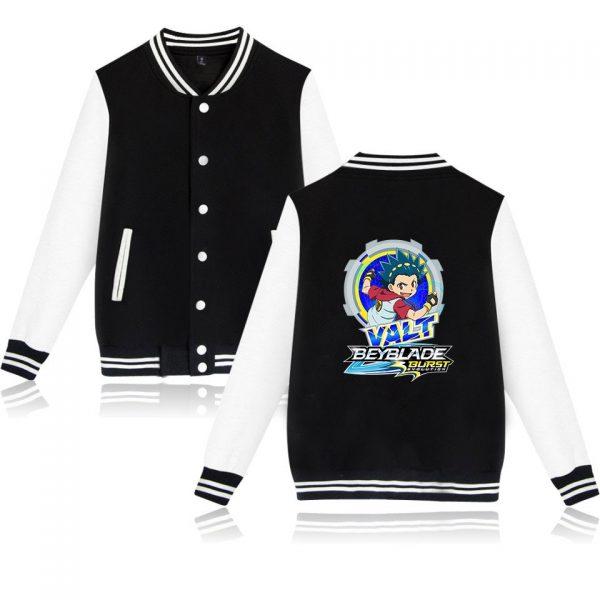 Beyblade Burst Evolution Baseball Unisex Long Sleeve Jacket 2021 Hip Hop Casual Streetwear Harajuku Clothes - Anime Jacket