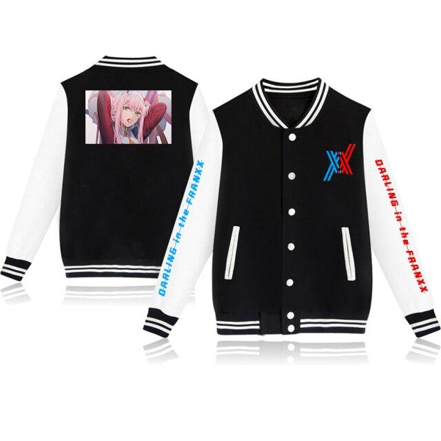 DARLING FRANXX New Baseball Uniform Boys Girls Coat Retro Print Streetwear Casual Jacket Tracksuit Top Japanese 2.jpg 640x640 2 - Anime Jacket