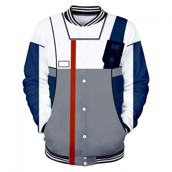 GUNDAM Character Suit 3D Baseball Jackets Women Men Fashion Long Sleeve Jacket Cosplay Casual Streetwear Trendy 4 - Anime Jacket