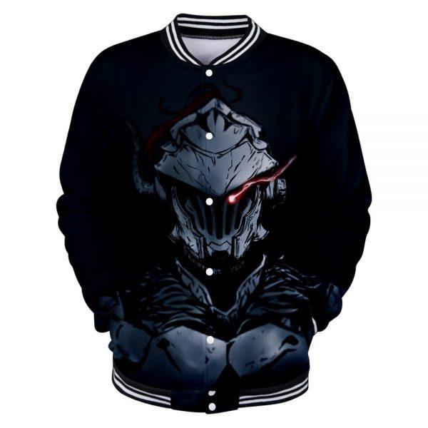 Goblin Slayer Print Comic 3D Funny Cool Baseball Jacket For Women Men Fashion O neck Long - Anime Jacket