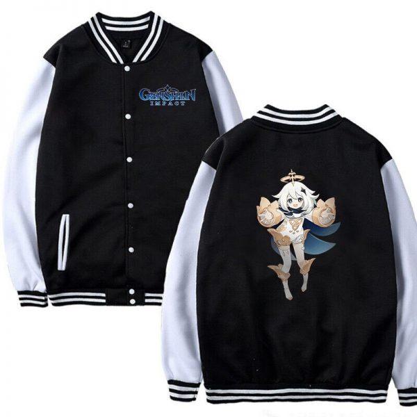 Hot Game Baseball Jacket Genshin Impact Women Girls Cosplay Jackets Sweatshirt Men Women Autumn Winter Genshin 2 - Anime Jacket