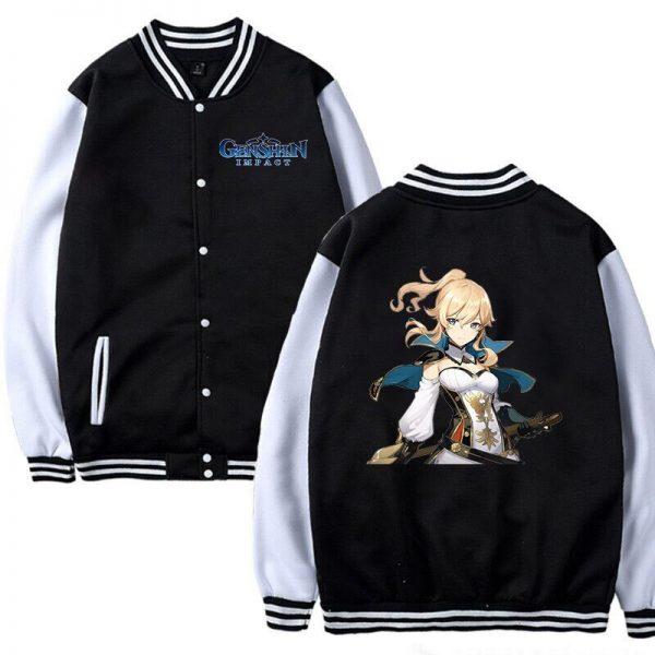 Hot Game Baseball Jacket Genshin Impact Women Girls Cosplay Jackets Sweatshirt Men Women Autumn Winter Genshin 3 - Anime Jacket
