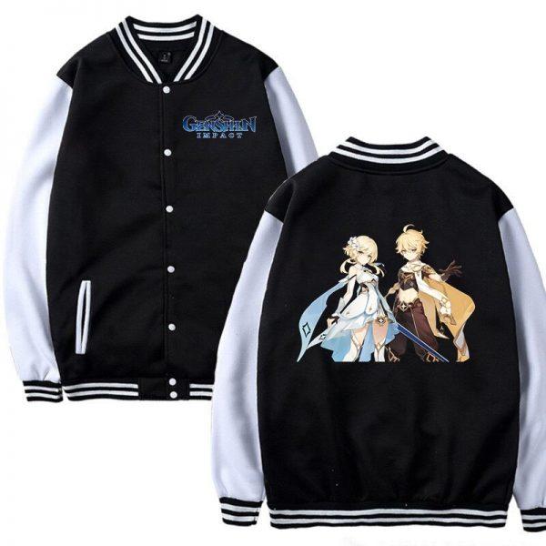 Hot Game Baseball Jacket Genshin Impact Women Girls Cosplay Jackets Sweatshirt Men Women Autumn Winter Genshin - Anime Jacket