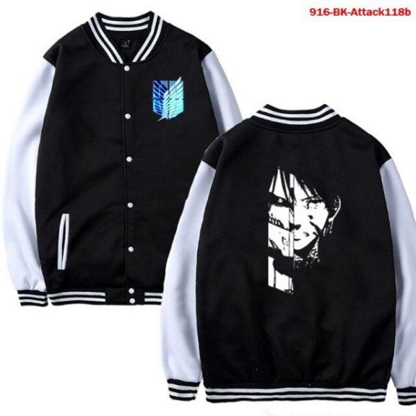Men Jacket Attack on Titan Anime Baseball Jacket Autumn Winter Winter Casual Uniform Hoodie Harajuku Attack 6.jpg 640x640 6 - Anime Jacket