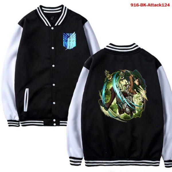 Men Jacket Attack on Titan Anime Baseball Jacket Autumn Winter Winter Casual Uniform Hoodie Harajuku Attack 8.jpg 640x640 8 - Anime Jacket