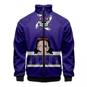 ONE PIECE Print Q Version Japanese Anime 3d Stand Collar Hoodie Men Women Zipper Hoodies Jackets Long Sleeve 3D Sweatshirts Tops